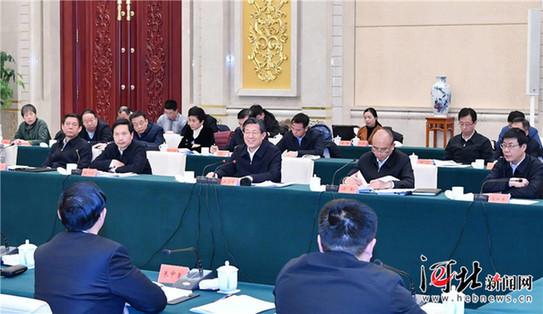 西藏自治区党政代表团到我省参观考察