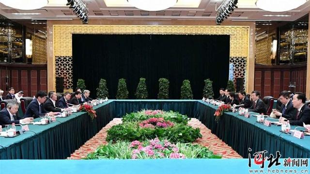 王东峰同蒙古国总统巴特图勒嘎会谈