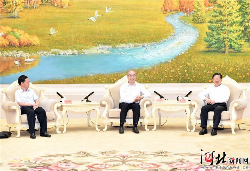 张军来河北调研 王东峰出席有关座谈会